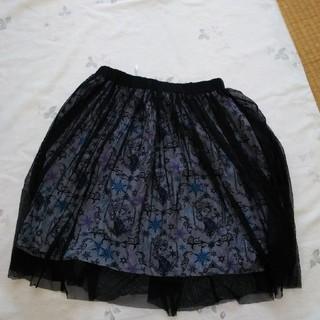ディズニー(Disney)のエルサシフォンスカート(ひざ丈スカート)