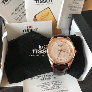 ティソ(TISSOT)のTISSOT  POWER MATIC80 自動巻き(腕時計(アナログ))
