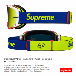 シュプリーム(Supreme)のSupreme Fox Racing シュプリーム ゴーグルt123456780(アクセサリー)