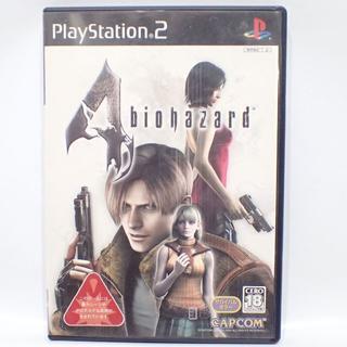プレイステーション2(PlayStation2)のC292 PS2 バイオハザード4 メモリーカード付き(家庭用ゲームソフト)