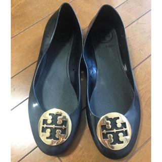 トリーバーチ(Tory Burch)のトリーバーチ ラバーシューズ 黒(レインブーツ/長靴)