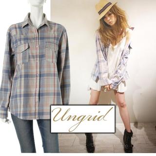 アングリッド(Ungrid)のUNGRIDシャツ(mika様取り置き)(シャツ/ブラウス(長袖/七分))