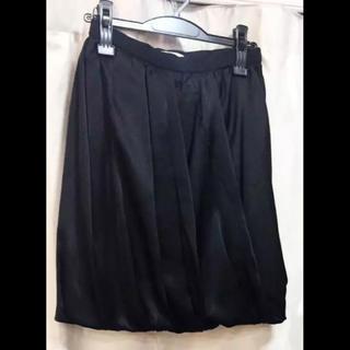 プラダ(PRADA)のプラダ バルーン スカート 黒 18582722(ひざ丈スカート)