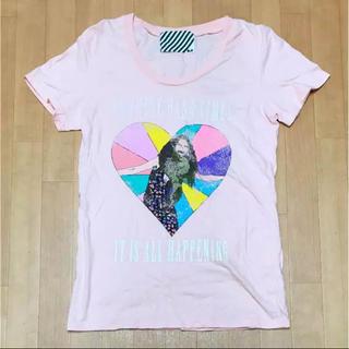 スライ(SLY)のスライ♡古着風ロゴTシャツ(Tシャツ(半袖/袖なし))