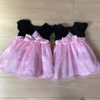 1624f700584a3 コストコ(コストコ)のベビー ドレス 2枚セット 双子(セレモニードレス スーツ