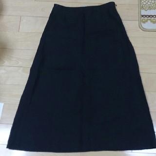 ジグソー(ZIGSAW)の黒ロングスカート(ロングスカート)