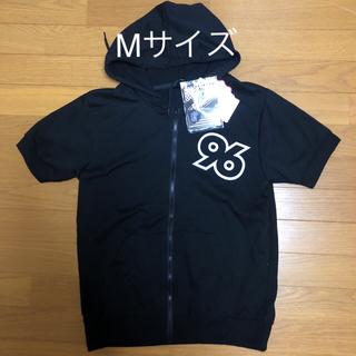 シマムラ(しまむら)の新品 96猫 ジップパーカー 黒 限定品 96NK Mサイズ 希少 しまむら(ミュージシャン)