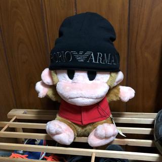 エンポリオアルマーニ(Emporio Armani)のEMPORIO ARMANI エンポリオアルマーニ 60サイズ ニット帽 正規品(ニット帽/ビーニー)