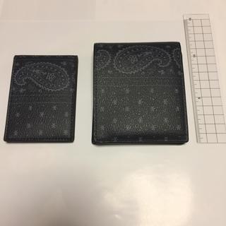 コーチ(COACH)のりょっぴ様専用 COACH 財布 定期入れ ペイズリー セット(折り財布)