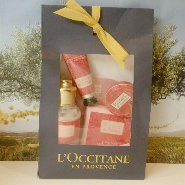 L'OCCITANE(ロクシタン)のロクシタン ローズセット 限定品 コスメ/美容のボディケア(その他)の商品写真
