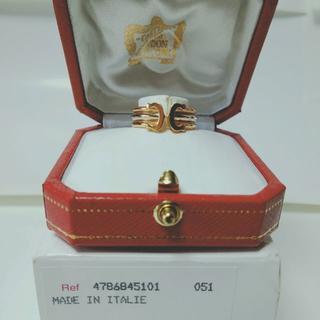 カルティエ(Cartier)の約21%値下★保証書箱付 カルティエ Cartier C2 リング  10号(リング(指輪))