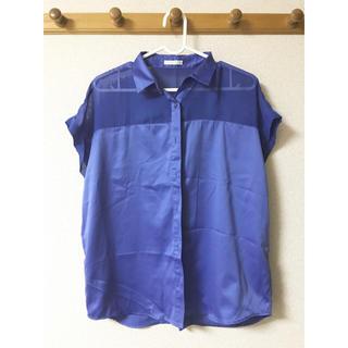 ジーユー(GU)のシャツ ジーユー 半袖(シャツ/ブラウス(半袖/袖なし))