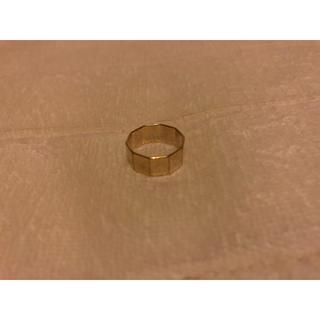 スメリー(SMELLY)の【SMELLY/スメリー】KBF/ピンキーリング/指輪/ゴールド/4号/美品(リング(指輪))