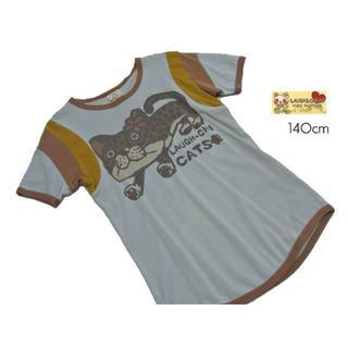 ラフアンドチープ(LAUGH & CHEAP)の■ラフ&チープ■ ジュニア 140cm プリント可愛い半袖シャツ (Tシャツ/カットソー)