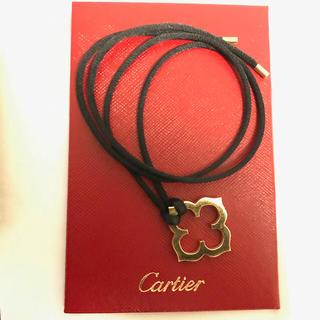 カルティエ(Cartier)のカルティエ ペンダント ネックレス 紐付き(ネックレス)