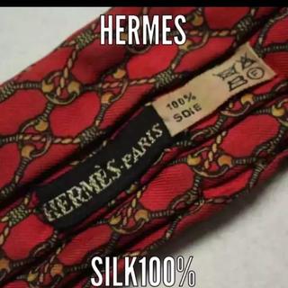 エルメス(Hermes)のエルメス シルクネックスカーフ アスコットタイ (バンダナ/スカーフ)