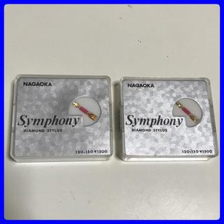 レコード針 新品 ナガオカ ( MAGAOKA ) 120-150 2個セット (レコード針)