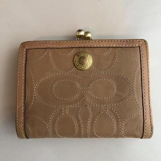 コーチ(COACH)のコーチがま口二つ折り財布(財布)