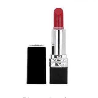 ディオール(Dior)のDior リップ 赤 新品 シャネル マック ysl 口紅 ディオール 人気(口紅)