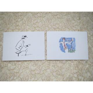 シャネル(CHANEL)のレアシャネルメッセージカード2枚(ノベルティグッズ)