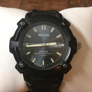 リコー(RICOH)のRICHO・ATRANTA・QUARTZ・10Bar・稼働品(腕時計(アナログ))