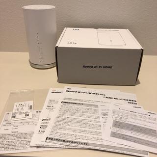 UQ WiMAX Speed Wi-Fi HOME L01s(PC周辺機器)