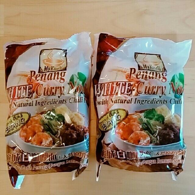 【カネゴン様専用】世界一おいしい☆ペナンホワイトカレーヌードル2個セット 食品/飲料/酒の加工食品(インスタント食品)の商品写真
