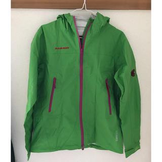 マムート(Mammut)のmammut drytech compact jacket(登山用品)