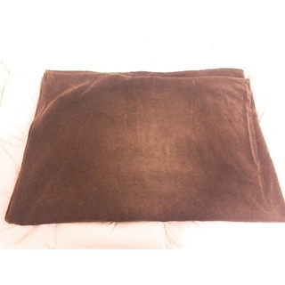 綿デニムキルティング多用布/ブルー 220×260cm SALE