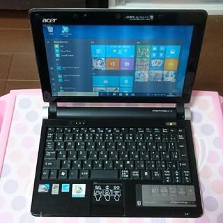 エイサー(Acer)の☆acer☆Aspire One D250 Windows10ネットブックです♪(ノートPC)