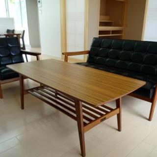 カリモクカグ(カリモク家具)のわに様専用カリモク60 リビングテーブル 大 ウォールナット ローテーブル(ローテーブル)