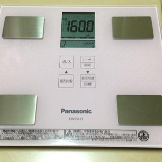 パナソニック(Panasonic)の体重計 Panasonic(体重計/体脂肪計)