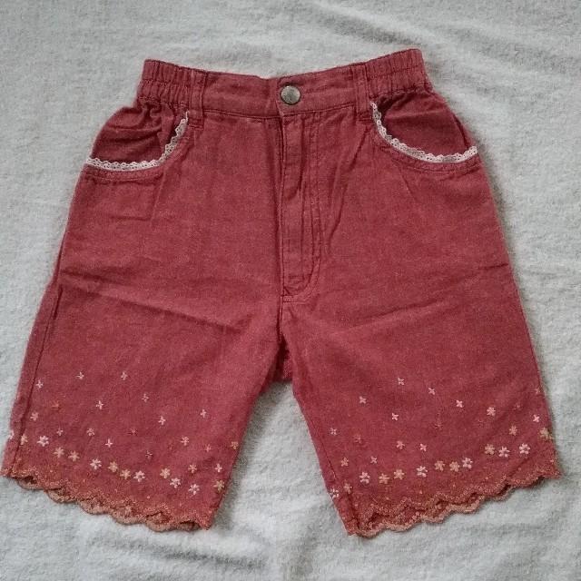 PERSON'S KIDS(パーソンズキッズ)のPERSON'S ショートパンツ 120  キッズ/ベビー/マタニティのキッズ服女の子用(90cm~)(パンツ/スパッツ)の商品写真