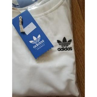 アディダス(adidas)の値下げしました! アディダスオリジナル ロンT 白(Tシャツ(長袖/七分))