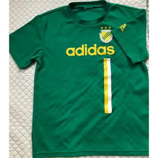 アディダス(adidas)のアディダス Tシャツ 150 グリーン(Tシャツ/カットソー)