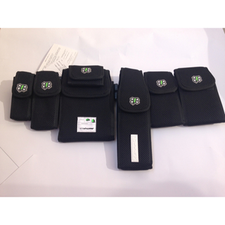 アンダーカバー(UNDERCOVER)の新品定価以下!undercover✖️full-bk6連ウエストバック黒(ウエストポーチ)