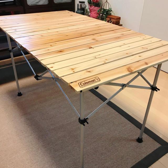 ロール テーブル ウッド