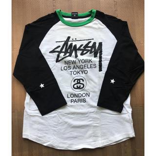 ステューシー(STUSSY)のStussy World Tour ラグラン(Tシャツ/カットソー(七分/長袖))