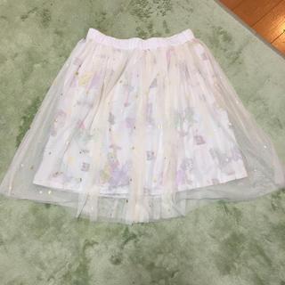 ディズニー(Disney)のディズニー ラプンツェルチュールスカート(ひざ丈スカート)