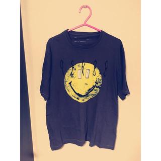 ナダ(NADA.)の【sonieさま専用】NADA smile tee&ラインストレッチパンツ(Tシャツ(半袖/袖なし))