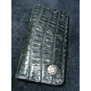 スタンリーゲス(STANLEY GUESS)のスターリンギア100YEARクロコダイルアリゲーターレザーウォレット財布(長財布)
