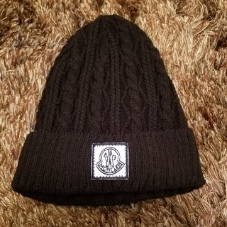 モンクレール(MONCLER)のモンクレール ニット帽(ニット帽/ビーニー)