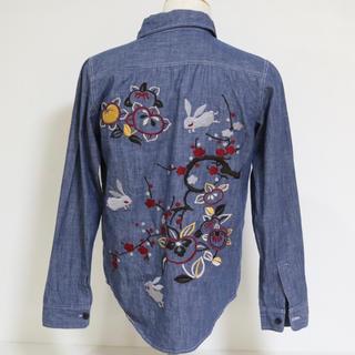 チキリヤ(CHIKIRIYA)の【chikiriya】刺繍デニムシャツ☆(シャツ)