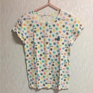 ラフ(rough)の再値下げ rough  Tシャツ 星柄 スター(Tシャツ(半袖/袖なし))