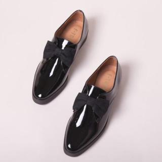 エフトゥループ(F-TROUPE)のF-TROUPE PATENT BLACK(ローファー/革靴)