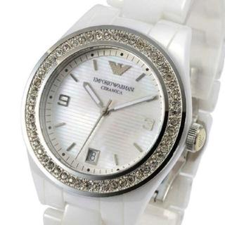 e8779ac7f4 エンポリオアルマーニ(Emporio Armani)の超美品!エンポリオアルマーニレディース腕時計AR1426