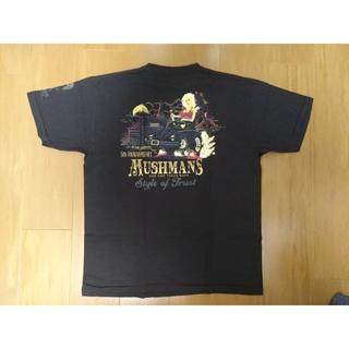 ダブルワークス(DUBBLE WORKS)のマッシュマンズ 5周年Tシャツ 黒 XL オフ白(Tシャツ/カットソー(半袖/袖なし))