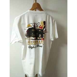 ダブルワークス(DUBBLE WORKS)のマッシュマンズ 5周年Tシャツ 黒 XL 新品(Tシャツ/カットソー(半袖/袖なし))
