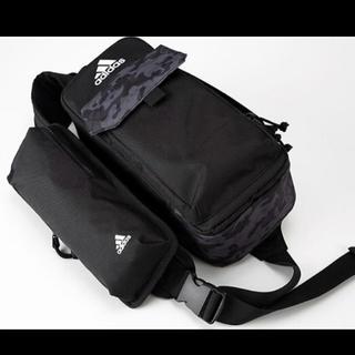アディダス(adidas)のももクロ adidas スペシャル ボディバッグ ブラック 黒 ポシュレ (アイドルグッズ)