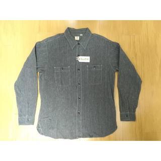 シュガーケーン(Sugar Cane)のシュガーケーン コットンコバート長袖ワークシャツ 新品 XL SC26485A(シャツ)